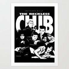 The Reckless Club Dark Art Print
