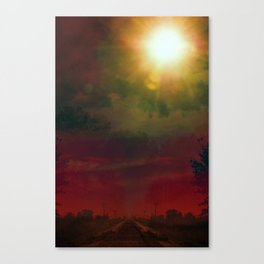 The Old Mainline Canvas Print