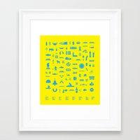 sweden Framed Art Prints featuring Sweden by Marcus Eriksson