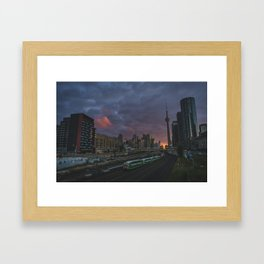 Coming and going  |  Toronto, Canada Framed Art Print