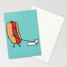 Double Dog Stationery Cards