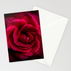 Texture Of A Rose Stationery Cards
