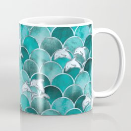 Wave Jumpers (Turquoise) Coffee Mug