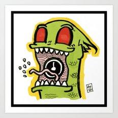 Kid Komodo Art Print