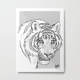 Tigers eye Metal Print