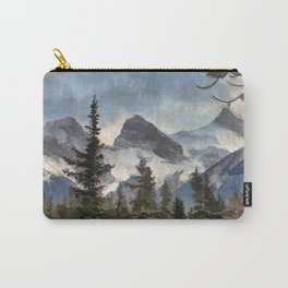 The Three Sisters - Canadian Rocky Mountains Carry-All Pouch