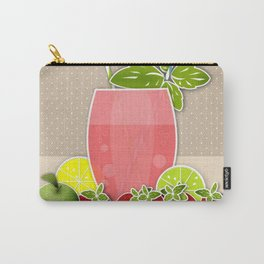 Retro design. Fresh drink Carry-All Pouch