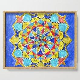 Geometric artform. Decor Serving Tray