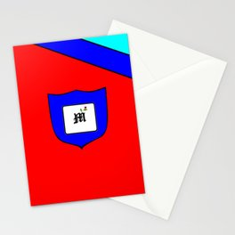 A Family Crest with a Capital Letter M, Mu Stationery Cards