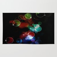 the lights Area & Throw Rugs featuring Lights by Digital-Art