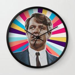 bobby colorful Wall Clock
