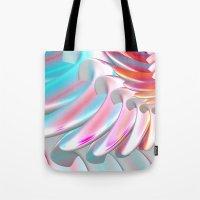 angel wings Tote Bags featuring Angel Wings by ArtPrints