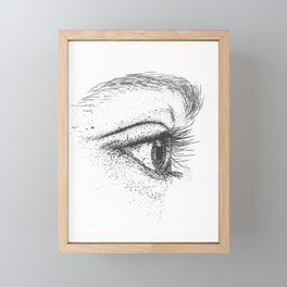 Eye yi yi Framed Mini Art Print