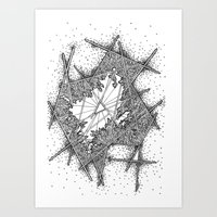 fractal Art Prints featuring Fractal by Abstract Al
