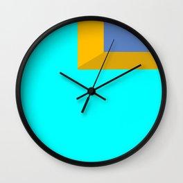 Ocean View #minimal #art #buyart Wall Clock