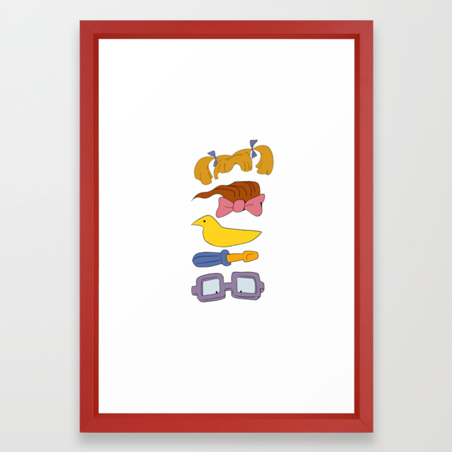 Rugrats Framed Art Print