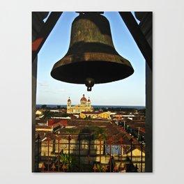 Bell Tower View, Granada, Nicaragua Canvas Print