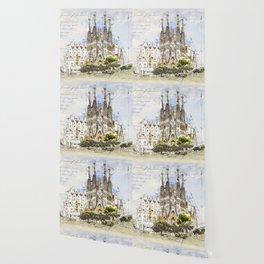 Sagrada Familia, Barcelona Spain Wallpaper