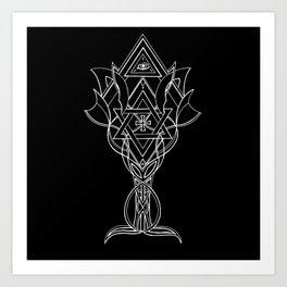 Tree Of Masons Art Print