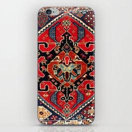 Qashqa'i Antique Fars Persian Bag Face Print iPhone Skin