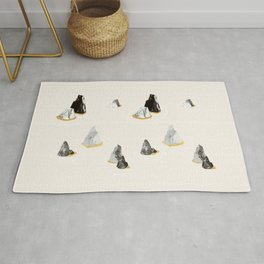 Marble Rock Formation Rug
