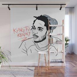 Kung Fu Kenny Wall Mural