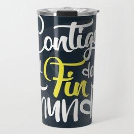 Contigo_frase Travel Mug