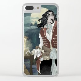 Haunted Hook Clear iPhone Case