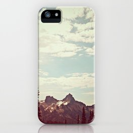 Vintage Mountain Ridge iPhone Case