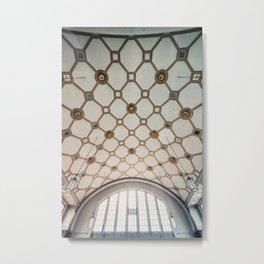 Darmstadt Vuitton Metal Print