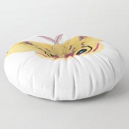 io moth (Automeris io) male specimen 1 Floor Pillow