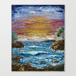 """Somewhere Sunset"" Canvas Print"