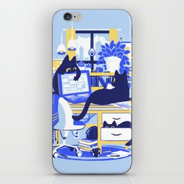 Working From Home iPhone Skin