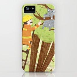 Hippocatomus iPhone Case