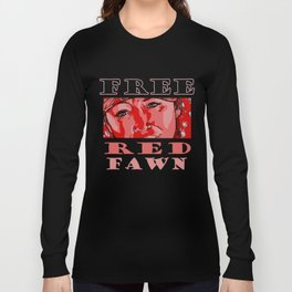 FREE RED FAWN Long Sleeve T-shirt