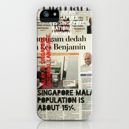 CAN YOU READ MALAY? iPhone Case