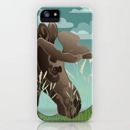Shiras Moose iPhone Case