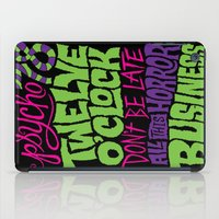 horror iPad Cases featuring Horror Business by Chris Piascik