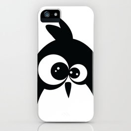 Funny Baby Penguin iPhone Case