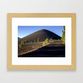 Lassen Volcanic National Park - Cinder Cone Volcano Framed Art Print