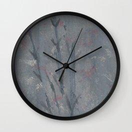 Bamboo 4 Wall Clock