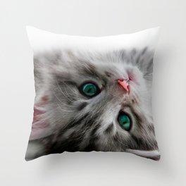 Just Woke Up Throw Pillow