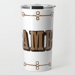BAMBU 2 rolling papers Travel Mug