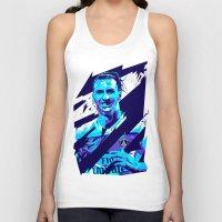 zlatan Tank Tops featuring Zlatan Ibrahimović : Football Illustrations by mergedvisible