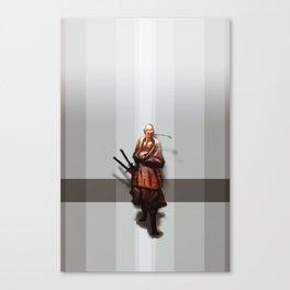 Samurai Ojiisama Canvas Print
