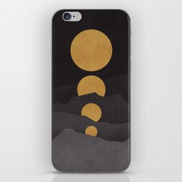 Rise of the golden moon iPhone Skin