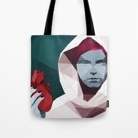 hunting Tote Bags featuring HUNTING by ANDRESZEN
