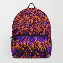 Halloween Tribal Print Backpack