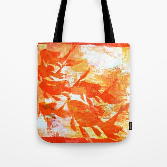 Plaster's Koi Tote Bag