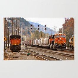 TRAIN YARD Rug